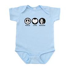 Peace Love Reagan Infant Bodysuit