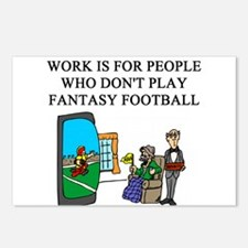 fantasy football fun gifts t- Postcards (Package o