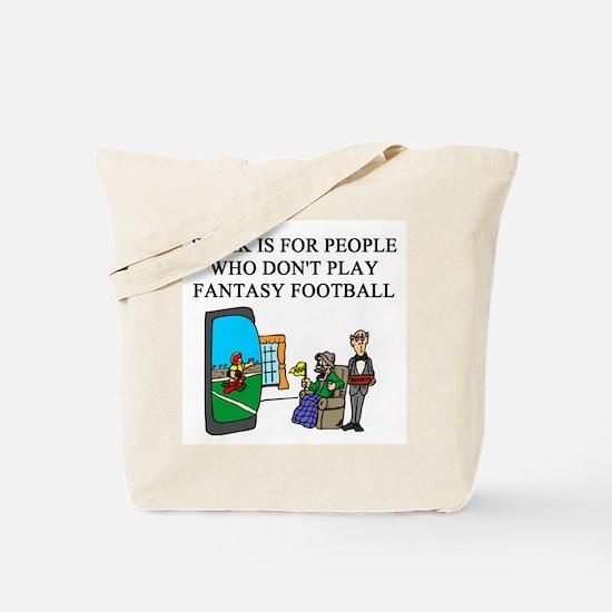 fantasy football fun gifts t- Tote Bag