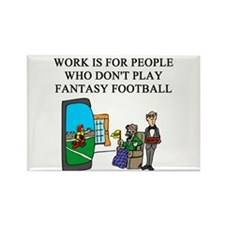fantasy football fun gifts t- Rectangle Magnet