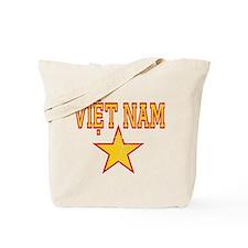 Viet Nam Star Tote Bag