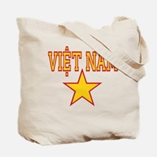 Viet Nam Star Tote Bag