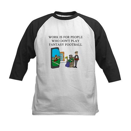 fantasy football fun gifts t- Kids Baseball Jersey