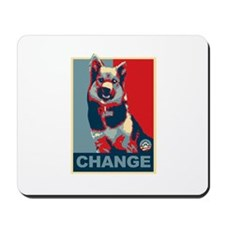 Dogs for Change Obama Mousepad