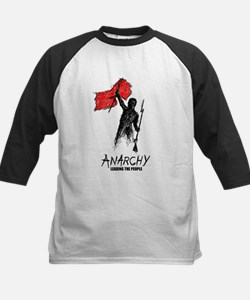 Anarchy Leading the People! Kids Baseball Jersey