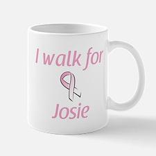 I walk for Josie Mug