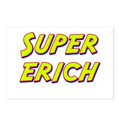 Super erich Postcards (Package of 8)