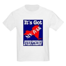 New York It's Got Everything Kids T-Shirt