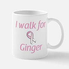 I walk for Ginger Mug