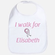 I walk for Elisabeth Bib