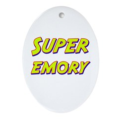 Super emory Oval Ornament