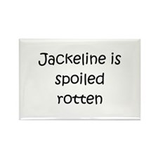 Funny Jackeline Rectangle Magnet