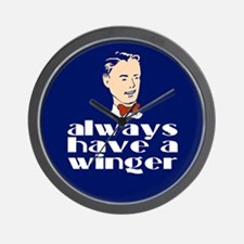 Always have a winger. Wall Clock