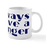 Always have a winger. Mug