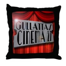 Cute Home theater Throw Pillow