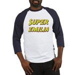 Super emilia Baseball Jersey