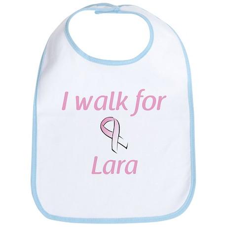 I walk for Lara Bib
