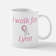 I walk for Lynn Mug