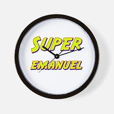 Super emanuel Wall Clock
