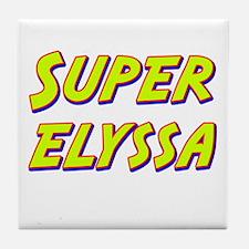 Super elyssa Tile Coaster