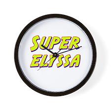 Super elyssa Wall Clock