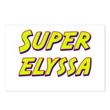Super elyssa Postcards (Package of 8)