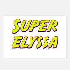 Super elyssa Postcards (Package of 8)