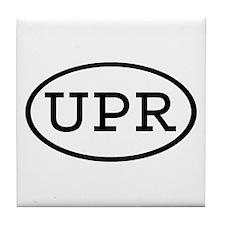 UPR Oval Tile Coaster