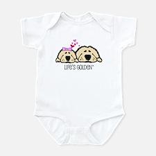 Life's Golden Valentine Infant Creeper
