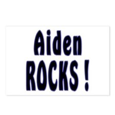 Aiden Rocks ! Postcards (Package of 8)