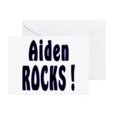 Aiden Rocks ! Greeting Cards (Pk of 10)