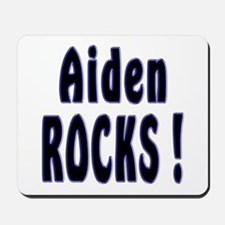 Aiden Rocks ! Mousepad
