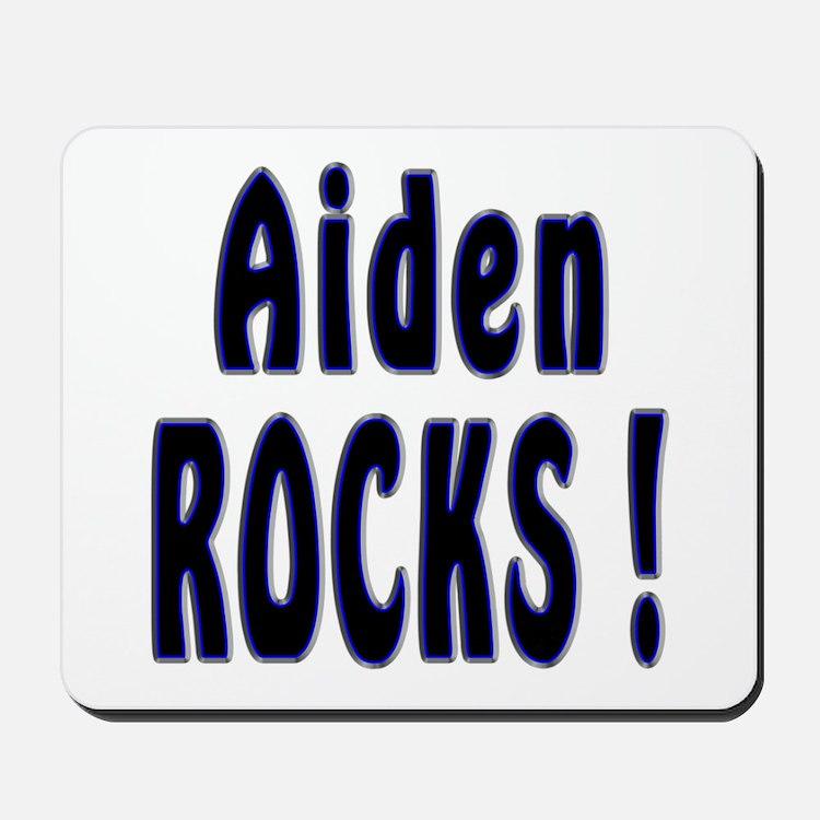 Aiden Rocks ! Mousepad