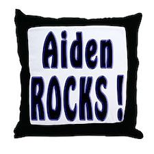 Aiden Rocks ! Throw Pillow