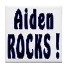 Aiden Rocks ! Tile Coaster
