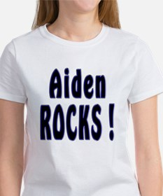 Aiden Rocks ! Women's T-Shirt