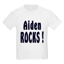 Aiden Rocks ! Kids T-Shirt