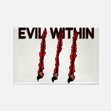 Evil Within Rectangle Magnet