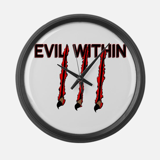 Evil Within Large Wall Clock