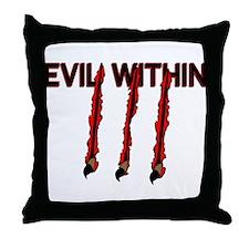 Evil Within Throw Pillow