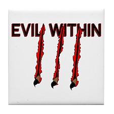 Evil Within Tile Coaster