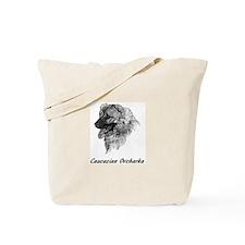 Cute Caucasian ovcharka Tote Bag