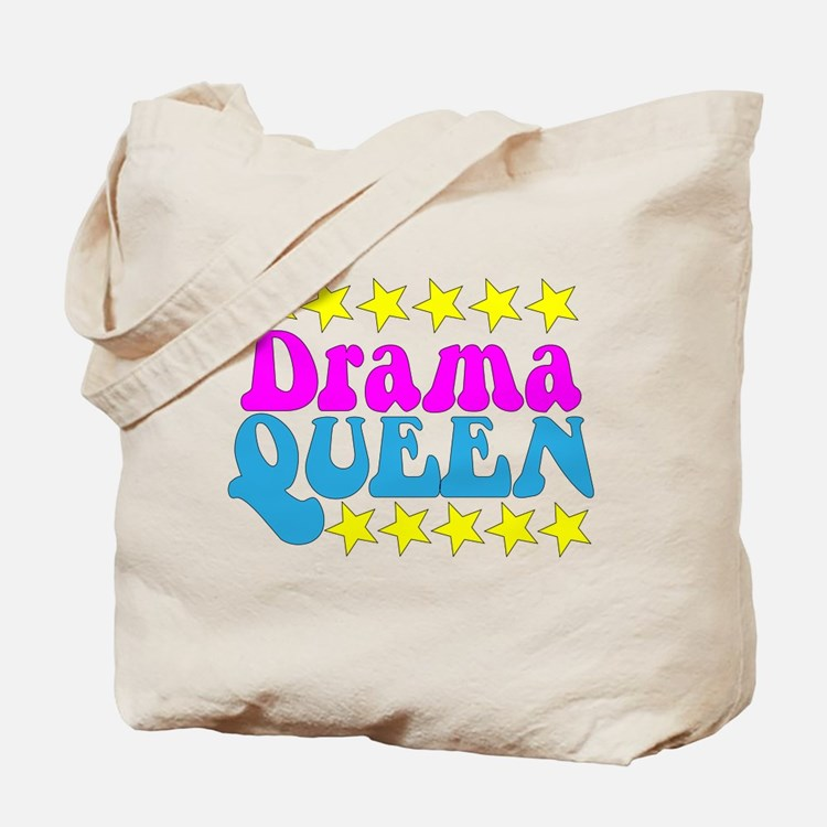 Drama Queen T-Shirt Tote Bag