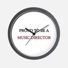 Proud to be a Music Director Wall Clock