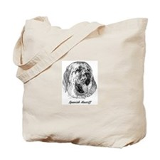 Cute Spanish mastiff Tote Bag