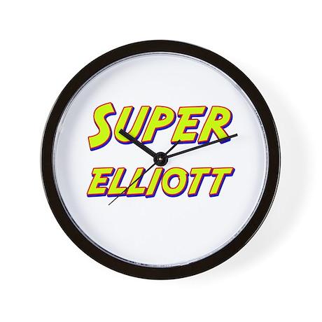 Super elliott Wall Clock