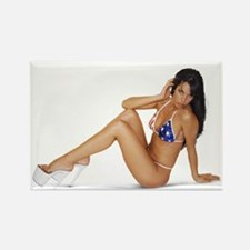 Red White and Blue Bikini Magnet