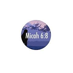Micah 6:8 Mini Button (100 pack)