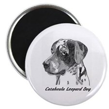 Unique Catahoula leopard dog Magnet