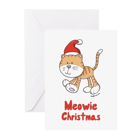 Christmas Kitty Greeting Cards (Pk of 20)